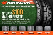 Hankook Special Offers