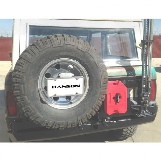 Hanson Off-Road® - Spare Tire Carrier