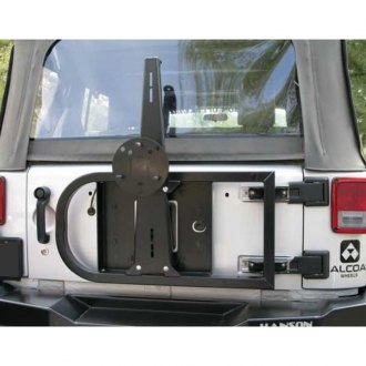 Hanson Off-Road® - Tailgate Mount Tire Carrier