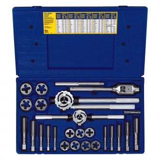 Hanson® - Fractional Tap and Hex Die Set