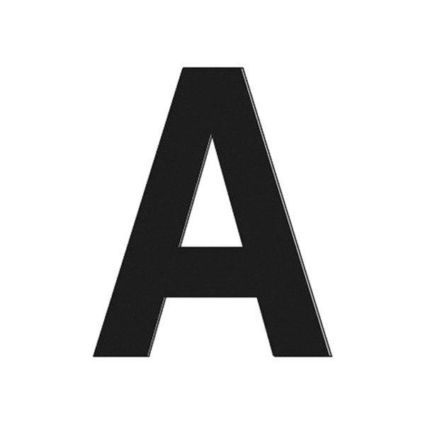 """Hardline® 17300 - 3"""" Black Letter A"""