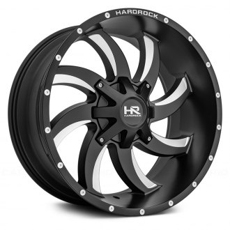 HARDROCK OFFROAD® - H701 DEVIOUS Satin Black with Milled Windows