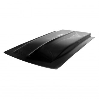 Harwood® - Cowl Induction Bolt-On Fiberglass Hood Scoop (Unpainted)