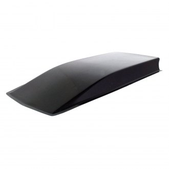 Harwood® - Smooth Top Cowl Induction Bolt-On Fiberglass Hood Scoop (Unpainted)
