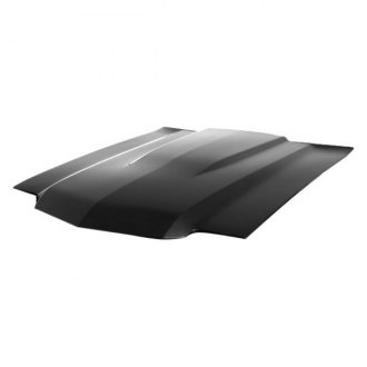 "Harwood® - 2"" Cowl Lift-Off Fiberglass Hood (Unpainted)"