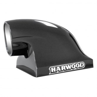 "Harwood® - Compressor II 17"" Dragster Bolt-On Fiberglass Hood Scoop (Unpainted)"