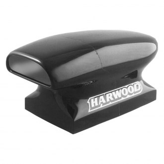 "Harwood® - Aero Compressor III 14.5"" Dragster Bolt-On Fiberglass Hood Scoop (Unpainted)"