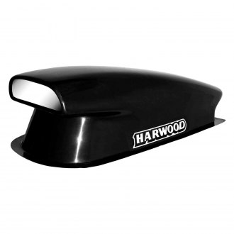 "Harwood® - Aero I 12"" Bolt-On Fiberglass Hood Scoop (Unpainted)"