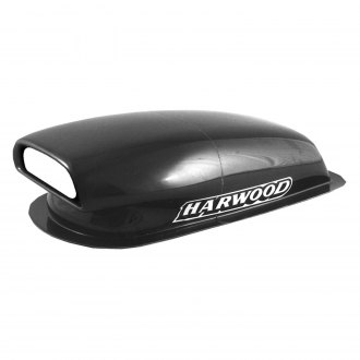 Harwood® - Aero Mini I Fiberglass Hood Scoop (Unpainted)