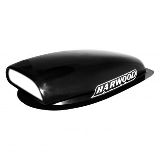 "Harwood® - Aero Mini II 7"" Fiberglass Hood Scoop (Unpainted)"
