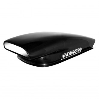 "Harwood® - Aero Pro III 10.5"" Bolt-On Fiberglass Hood Scoop (Unpainted)"