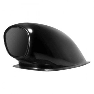 "Harwood® - Aero Pro V 15.5"" Bolt-On Fiberglass Hood Scoop (Unpainted)"