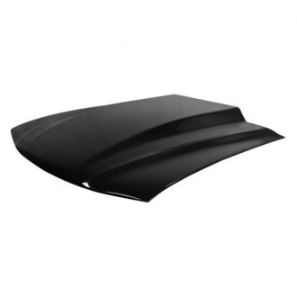 "Harwood® - Cobra R Style 3"" Bolt-On Fiberglass Hood (Unpainted)"