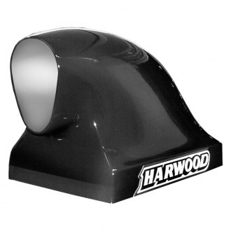 "Harwood® - Compressor I 16"" Dragster Bolt-On Fiberglass Hood Scoop (Unpainted)"