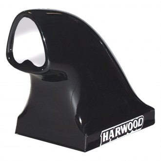 "Harwood® - Tri Compressor II 20.75"" Dragster Bolt-On Fiberglass Hood Scoop (Unpainted)"