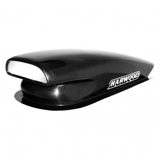 "Harwood® - Aero Pro I 10.5"" Bolt-On Fiberglass Hood Scoop (Unpainted)"