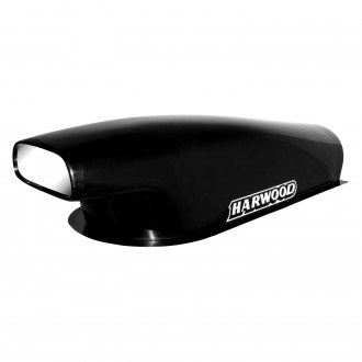 "Harwood® - Aero Pro Stock IV 11.75"" Bolt-On Fiberglass Hood Scoop (Unpainted)"