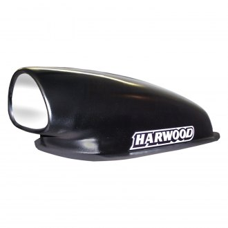 "Harwood® - Tri Aero Mini 10.75"" Bolt-On Fiberglass Hood Scoop (Unpainted)"