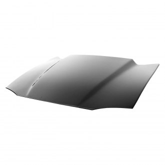 "Harwood® - Show Series 2.5"" Cowl Bolt-On Fiberglass Hood (Unpainted)"