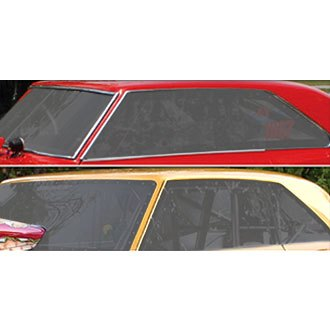 Harwood® - Driver and Passenger Side Polycarbonate Quarter Glass