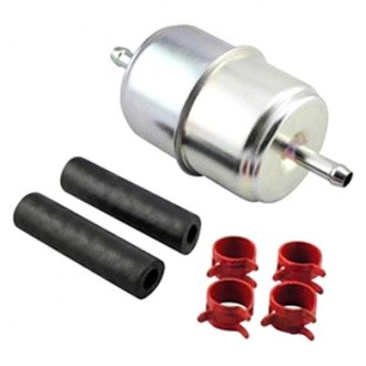 Hastings® - In-Line Fuel Filter with Clamps and Hoses