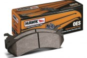 Image may not reflect your exact vehicle! Hawk® - OES Front Brake Pads