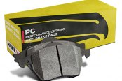 Image may not reflect your exact vehicle! Hawk® - Performance Ceramic Front Brake Pads