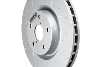 Hawk® HUS8657 - Quiet Slot™ Front Rotor