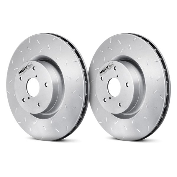 HAWK® - Quiet Slot™ Front Rotors