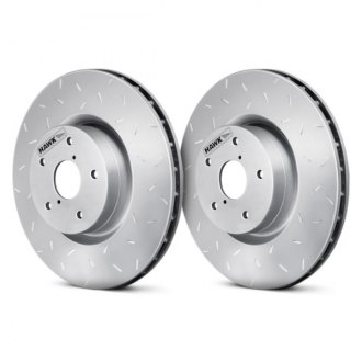 Hawk® - Quiet Slot™ Rotors