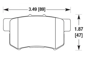Hawk® - Light Truck and SUV Rear Brake Pads
