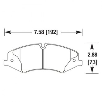 Hawk® - Light Truck and SUV Front Brake Pads