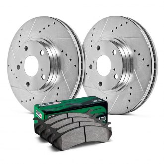Hawk® - Sector 27 LTS Drilled and Slotted Brake Kit