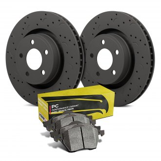 Hawk® - Talon® PC Drilled and Slotted Brake Kit