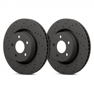 Hawk® - Talon Drilled and Slotted Brake Rotors