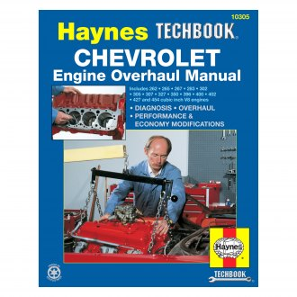 Haynes Manuals® - Chevrolet Engine Overhaul Techbook
