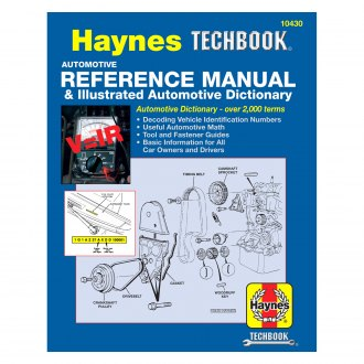 Haynes Manuals® - Automotive Reference Manual and Illustrated Automotive Dictionary Techbook