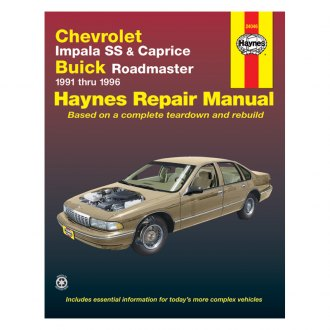 chevy caprice auto repair manuals carid com rh carid com 1991 Caprice Classic Clean 1991 chevrolet caprice classic service manual