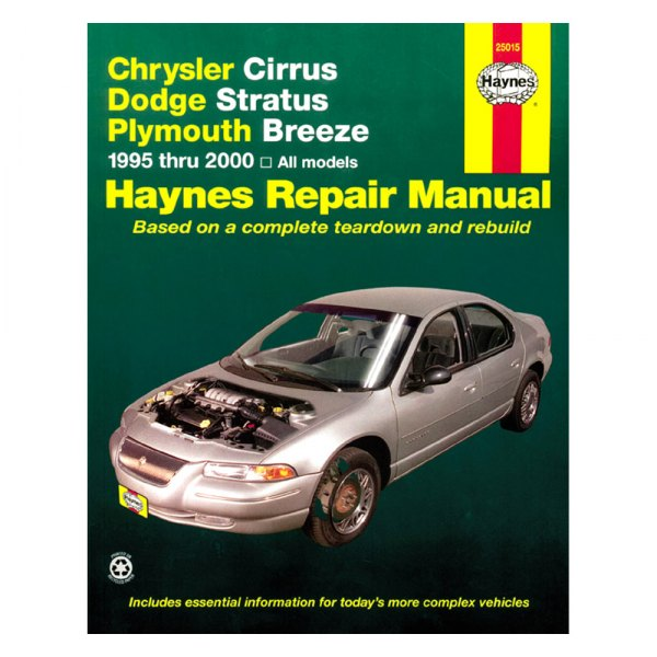 haynes manuals 25015 repair manual rh carid com 1999 Plymouth Breeze Master Cylinder 1999 Plymouth Breeze Engine Guard