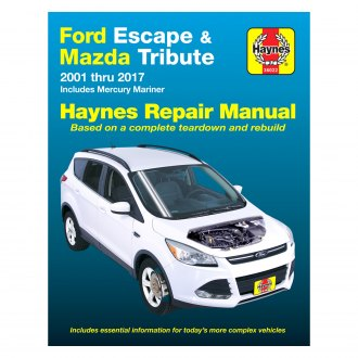 2003 ford escape auto repair manuals at carid com rh carid com Ford Escape Repair Manual P0446 2003 ford escape repair manual free download