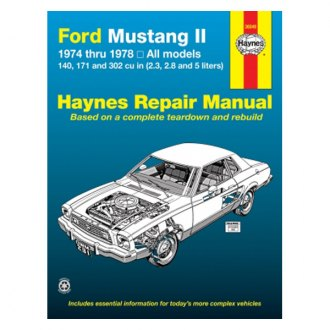 1976 ford mustang auto repair manuals at. Black Bedroom Furniture Sets. Home Design Ideas