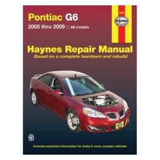 2008 Pontiac G6 Auto Repair Manuals At Carid Com