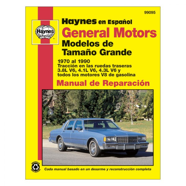 1984 chevrolet caprice haynes manual how to and user guide rh taxibermuda co 90 Chevy Caprice Brougham 90 Chevy Caprice Brougham