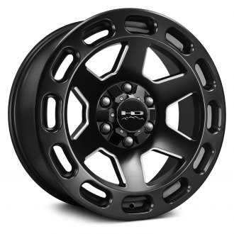 HD Off-Road® - AXLE Satin Black with Milled Accents