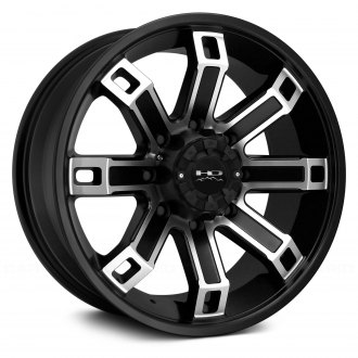 HD Off-Road® - BACK COUNTRY Satin Black with Machined Face