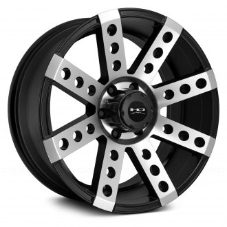 HD Off-Road® - DEADWOOD Satin Black with Machined Face