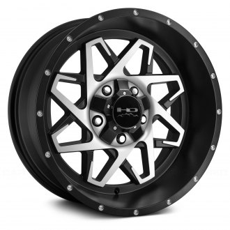 HD Off-Road® - HOOK Satin Black with Machined Face