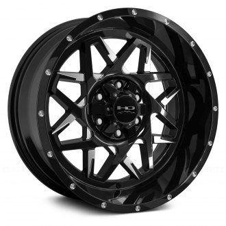 HD Off-Road® - HOOK Gloss Black with Milled Accents