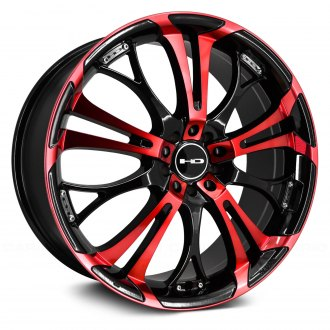 HD® - SPINOUT Gloss Black with Red Face