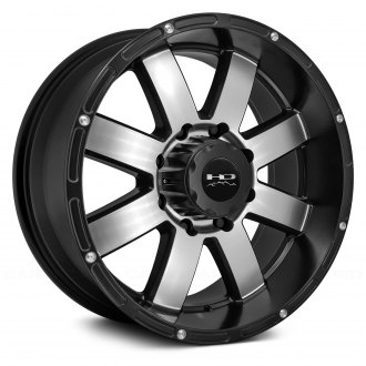 HD Off-Road® - TIMBER Satin Black with Machined Face
